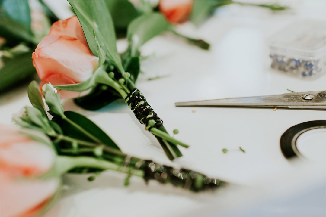 Wedding Day Buttonholes