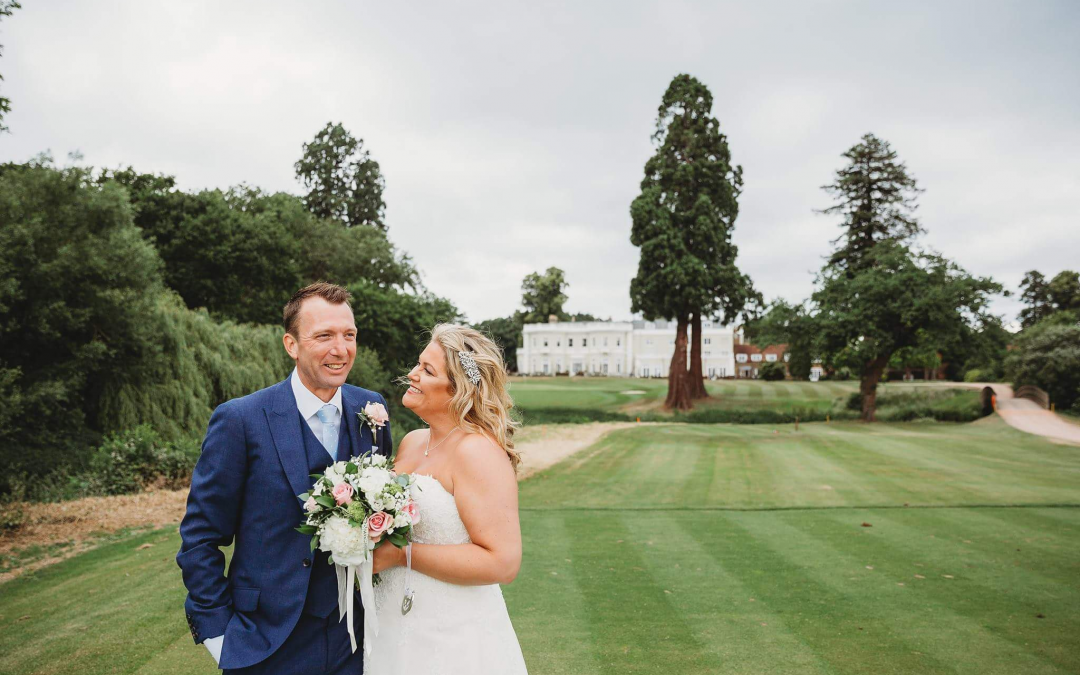 Burhill Golf Club | Donna and Tim's Wonderful Golf Themed Wedding